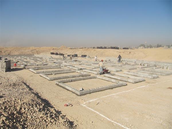 آغاز به کار عملیات ساختمانی مهرشهر دزفول