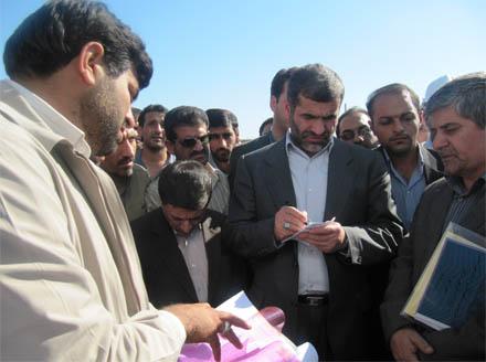 بازدید وزیر مسکن از مهرشهر دزفول